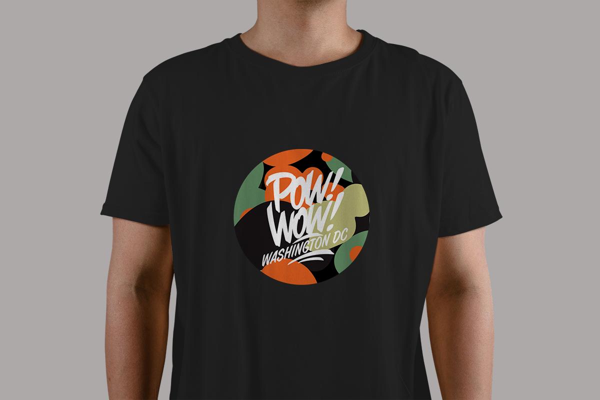 PowWow T-Shirt Mockup