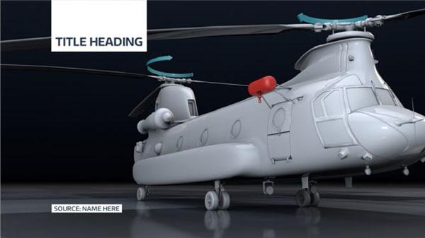 ITV News 3D example