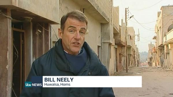 ITV News Bill Neely
